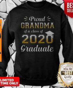 Proud Grandma Of A Class Of 2020 Graduate Sweatshirt