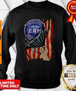 Official Emergency Room And American Flag Sweatshirt