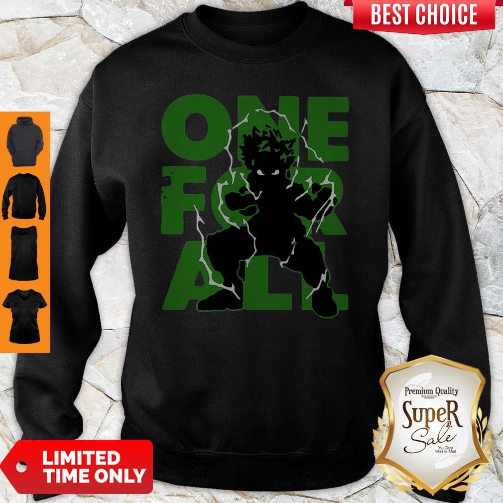 Nice One For All 2020 My Hero Academia Sweatshirt