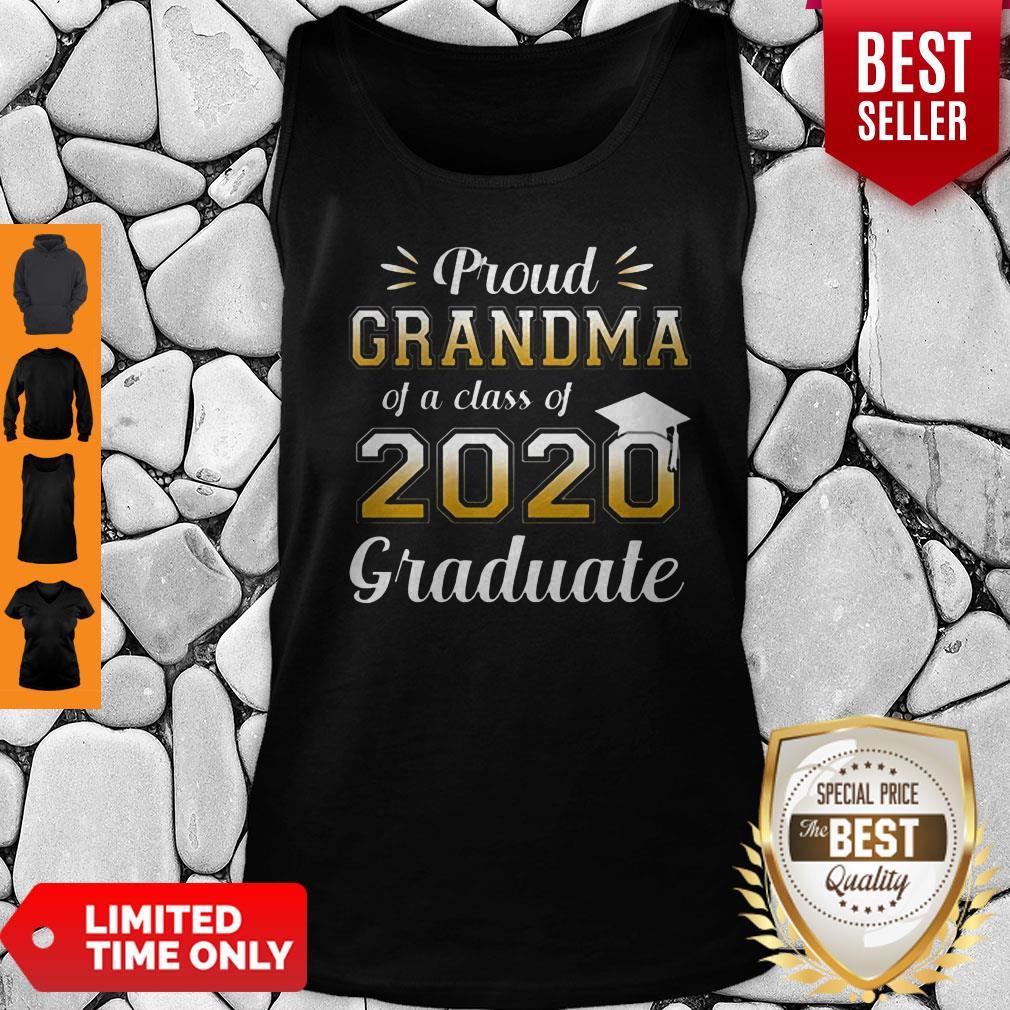 Proud Grandma Of A Class Of 2020 Graduate Tank Top