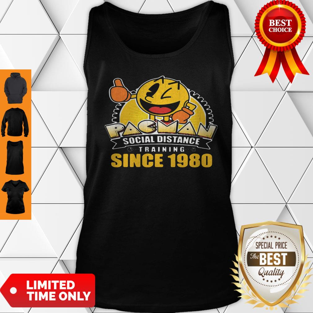 Pacman Social Distance Training Since 1980 Classic Tank Top