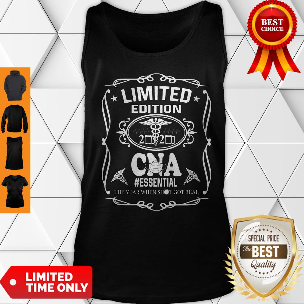 Limited Edition 2020 CNA Essential The Year When Shit Got Real COVID-19 Tank Top