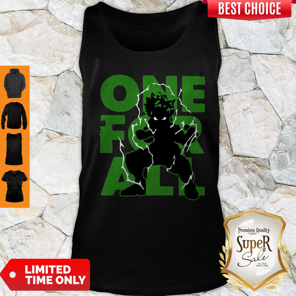 Nice One For All 2020 My Hero Academia Tank Top