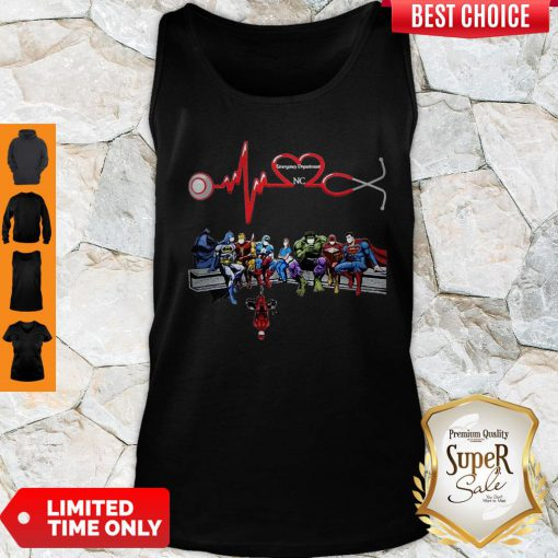 Nurse And Super Hero Emergency Department NC Tank Top
