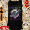 Jack Skellington Lovers Stay Out Of My Bubble Funny Tank Top