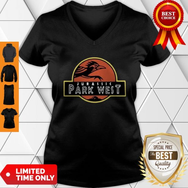 Official Jurassic Park West Utsa Athletics Official Jurassic Park West Utsa Athletics V-neck