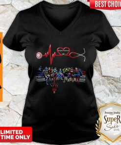 Nurse And Super Hero Emergency Department NC V-neck