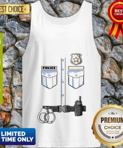Youth Kids Police Uniform – Police Officer Detective Gifts Tank Top