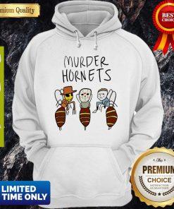 Awesome Murder Hornets Bees Freddy Krueger Jason Voorhees Michael Myers Hoodie