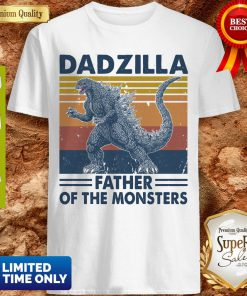 Funny Godzilla Father Of The Monsters Vintage Shirt