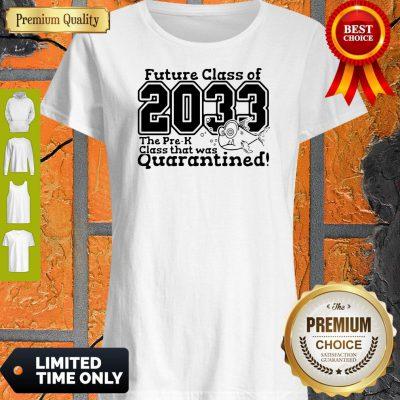 Funny Pre Kindergarten Class Of 2033 Fish Digital Cutting File Pre-k Quarantine T-shirt