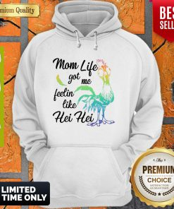 Funny Moana Chicken Mom Life Got Me Feelin Like Hei Hoodie