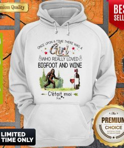 Nice Once Upon A Time There Was A Girl Who Really Loved Bigfoot And Wine V-neck