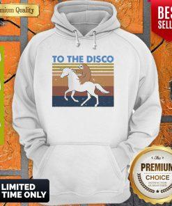 Nice To The Disco Vintage Hoodie
