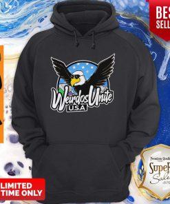 Good Eagles Weirdos Unite U.S.A Hoodie