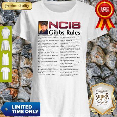 Nice NCIS Gibbs Rules All Song T-Shirt