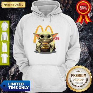 Official Baby Yoda Hug McDonald's Hoodie