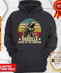 Official Gorilla Dadzilla Father Of The Monsters Hoodie