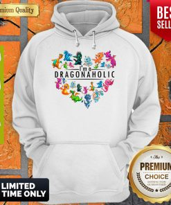 Official I'm A Dragonaholic Hoodie