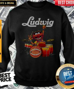 Original The Muppet Ludwig Drums Sweatshirt
