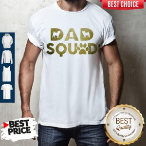 Premium Dad Squad Pug Dog Father's Day Shirt