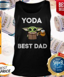 Pretty Baby Yoda Best Dad Tank Top