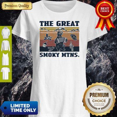Premium Vintage Bear The Great Smoky Mtns Shirt