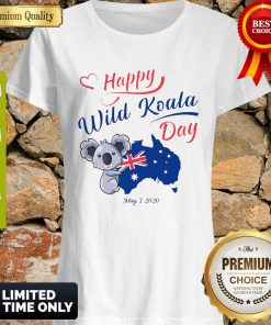 Nice Happy Wild Koala Day May 3 2020 Australia Flag Shirt