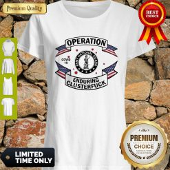 Official Army National Guard Operation Enduring Clusterfuck COVID-19 2020 Shirt
