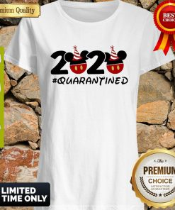 Pretty Disney Mickey Mouse 2020 #Quarantined Coronavirus Shirt
