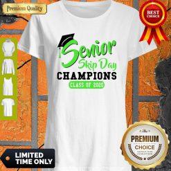 Pretty Senior 2020 Skip Day Champion Class Of 2020 Green Shirt