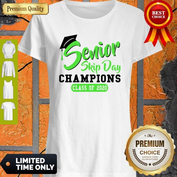 Pretty Senior 2020 Skip Day Champion Class Of 2020 Green Shirt