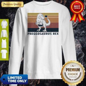 Good Vintage Mother Love Preggosaurus Rex Sweatshirt