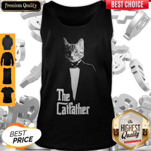 Top The Cat Father Tank Top