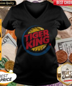 Cute Tiger King V-neck