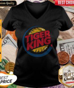 Cute Tiger King V-neck