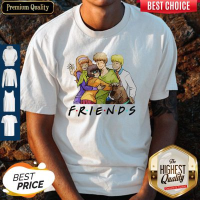 Official Scooby Doo Characters Friends Shirt