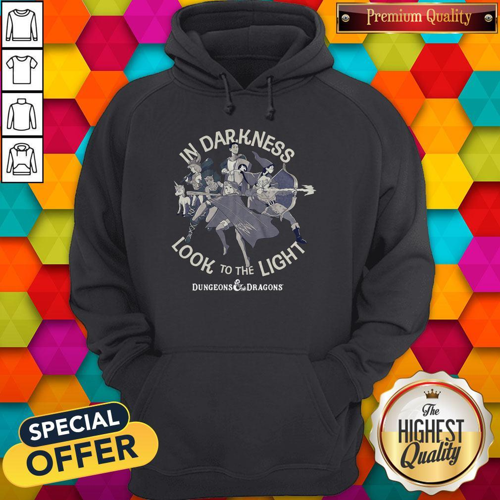 Cute In Darkness Look To The Light Dungeons And Dragons Hoodie