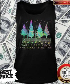Cute Staves Take A Sad Song And Make It Better Tank Top