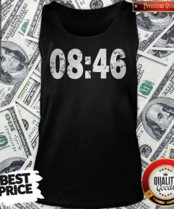 Good 0846 I Can't Breathe BLM Protest Tank Top