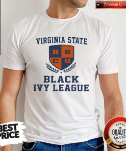 Great Virginia State Black Ivy League Shirt