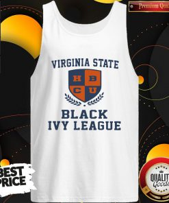 Great Virginia State Black Ivy League Tank Top
