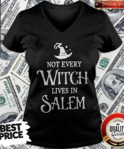 Nice Not Every Witch Lives In Salem V-neck