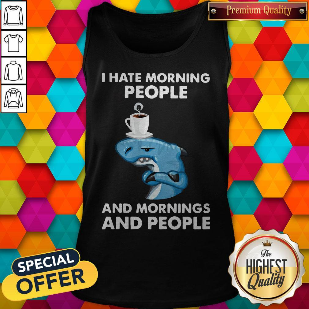 Nike Dolphin I Hate Morning People And Mornings And People Tank Top