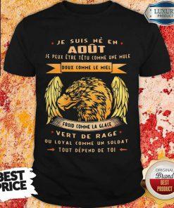 Official Tout Depend De Toi Juin Homme Shirt