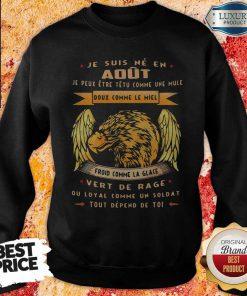 Official Tout Depend De Toi Juin Homme Sweatshirt