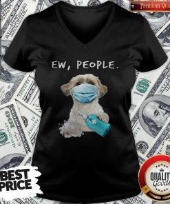 Perfect Shih Tzu Ew People Face Mask Wash Your Hands V-neck