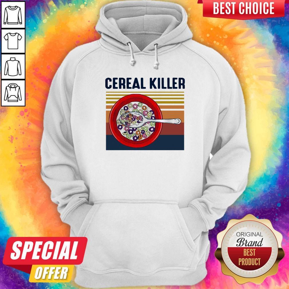 Premium I Want Cereal Killer Vintage Hoodie