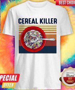 Premium I Want Cereal Killer Vintage Shirt