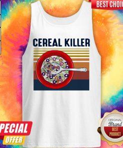 Premium I Want Cereal Killer Vintage Tank Top